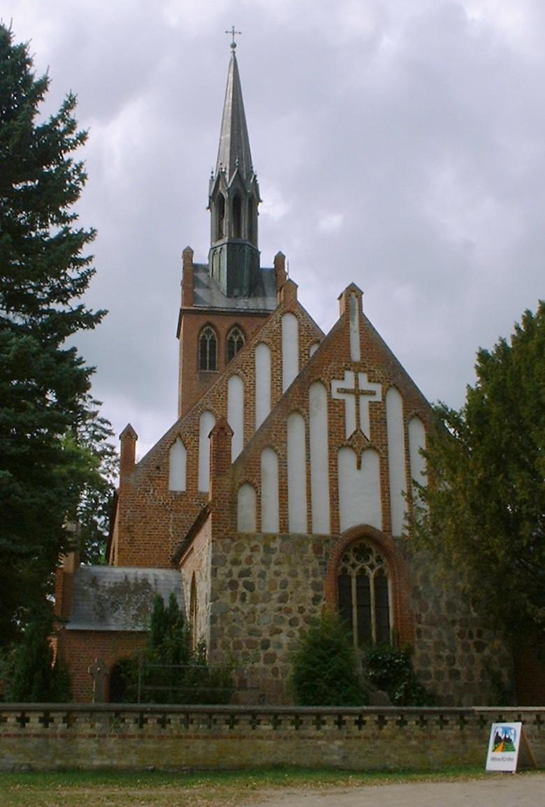 Bild Kirche Basedow
