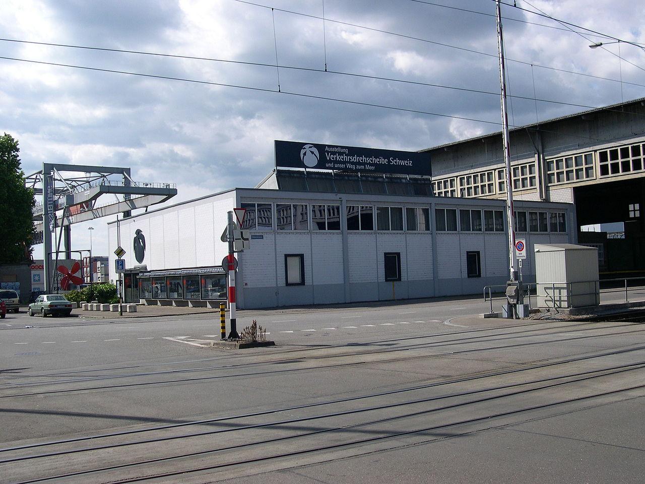 Bild Verkehrsdrehscheibe Schweiz Basel
