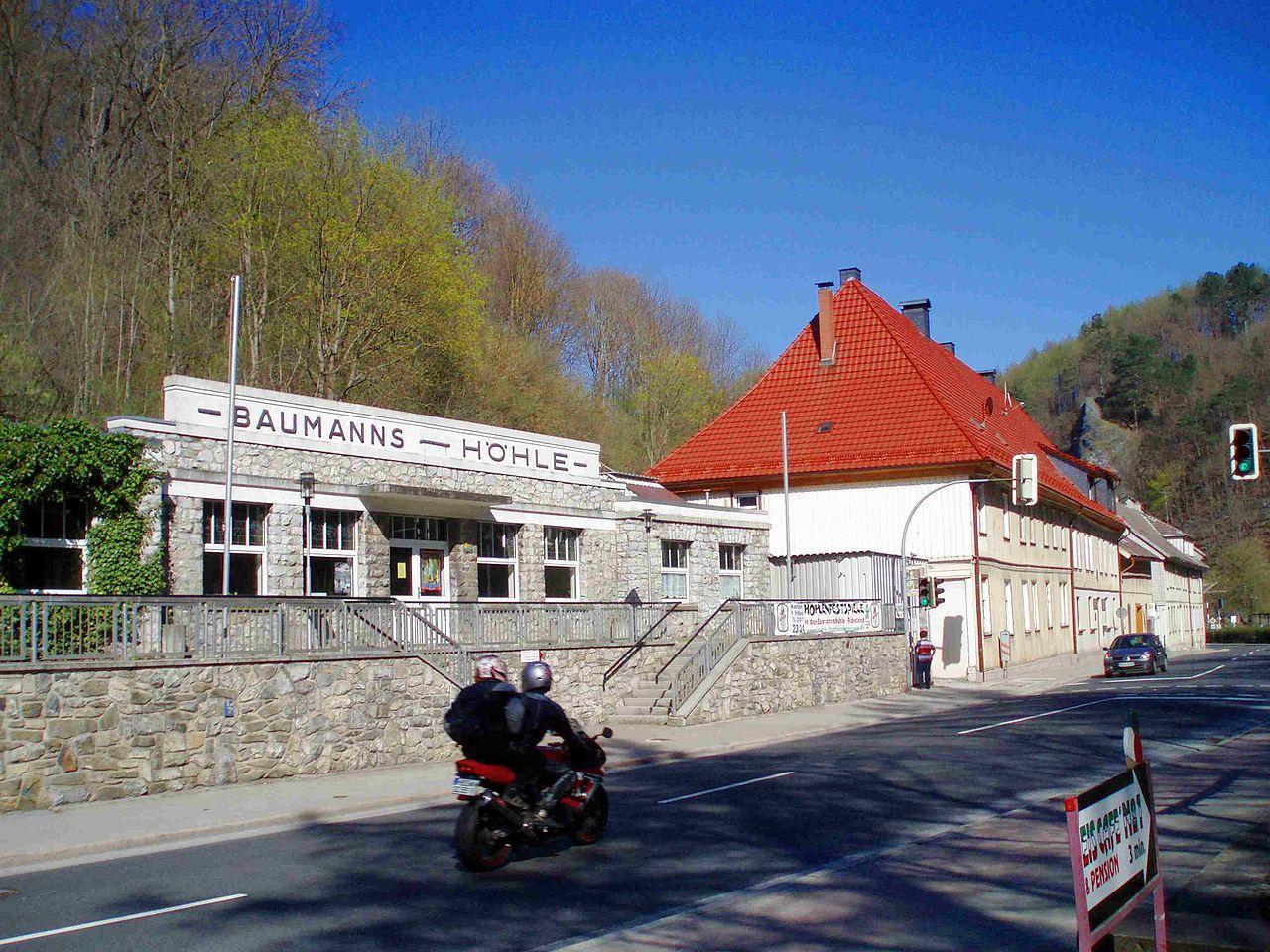 Bild Baumannshöhle Rübeland