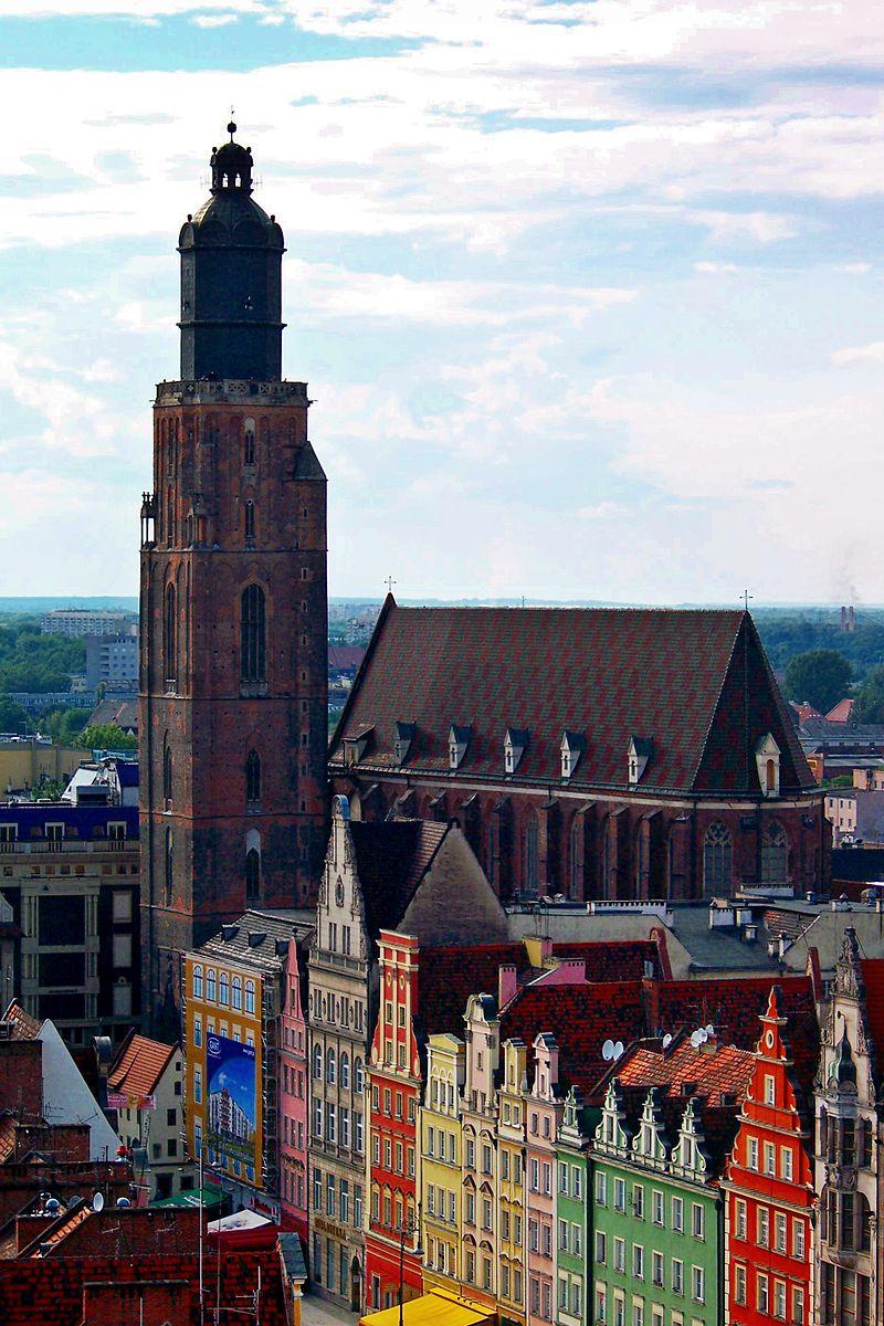 Bild St. Elisabeth Kirche Breslau (Wroclaw)