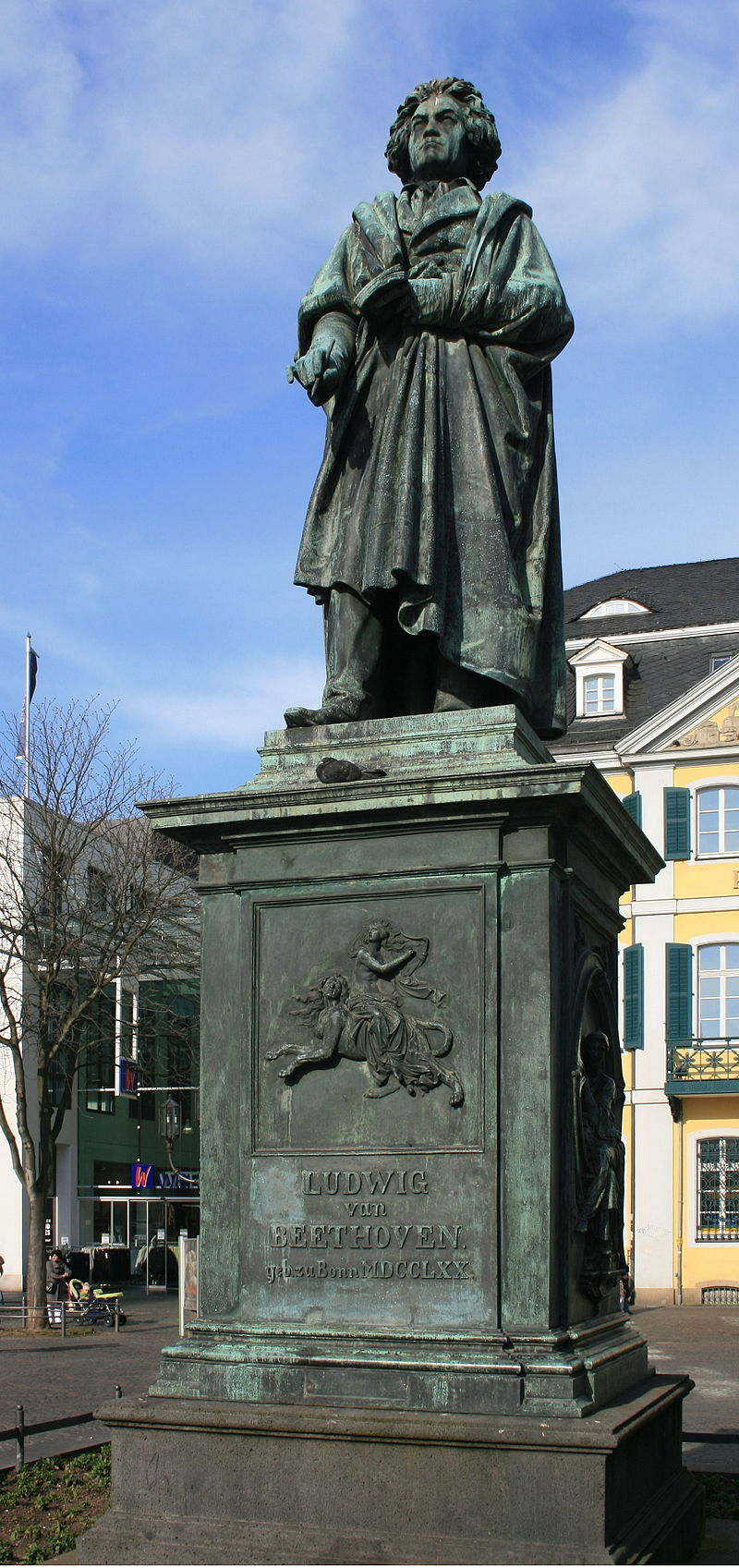 Bild Beethoven Denkmal Bonn