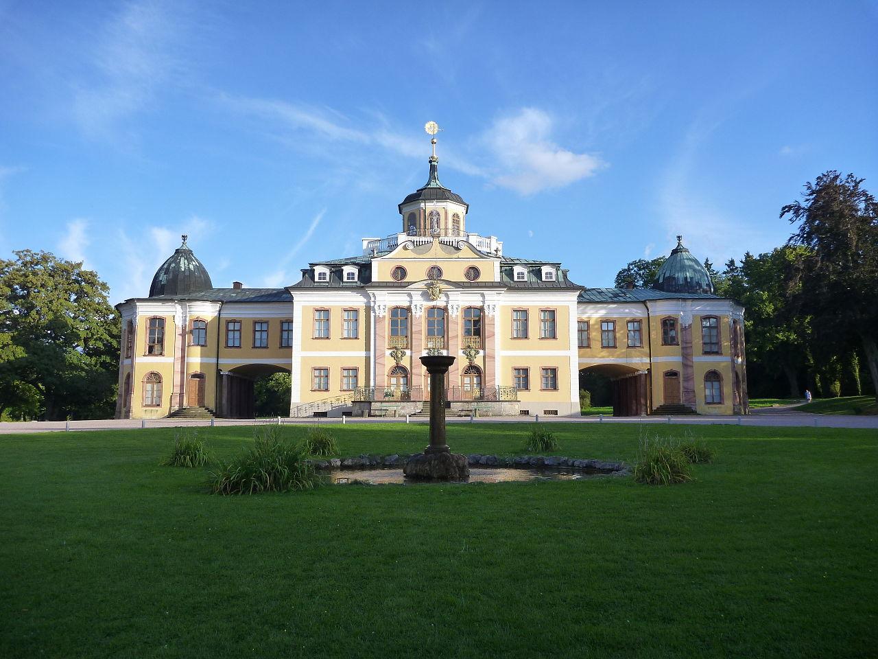 Bild Schloss Belvedere Weimar