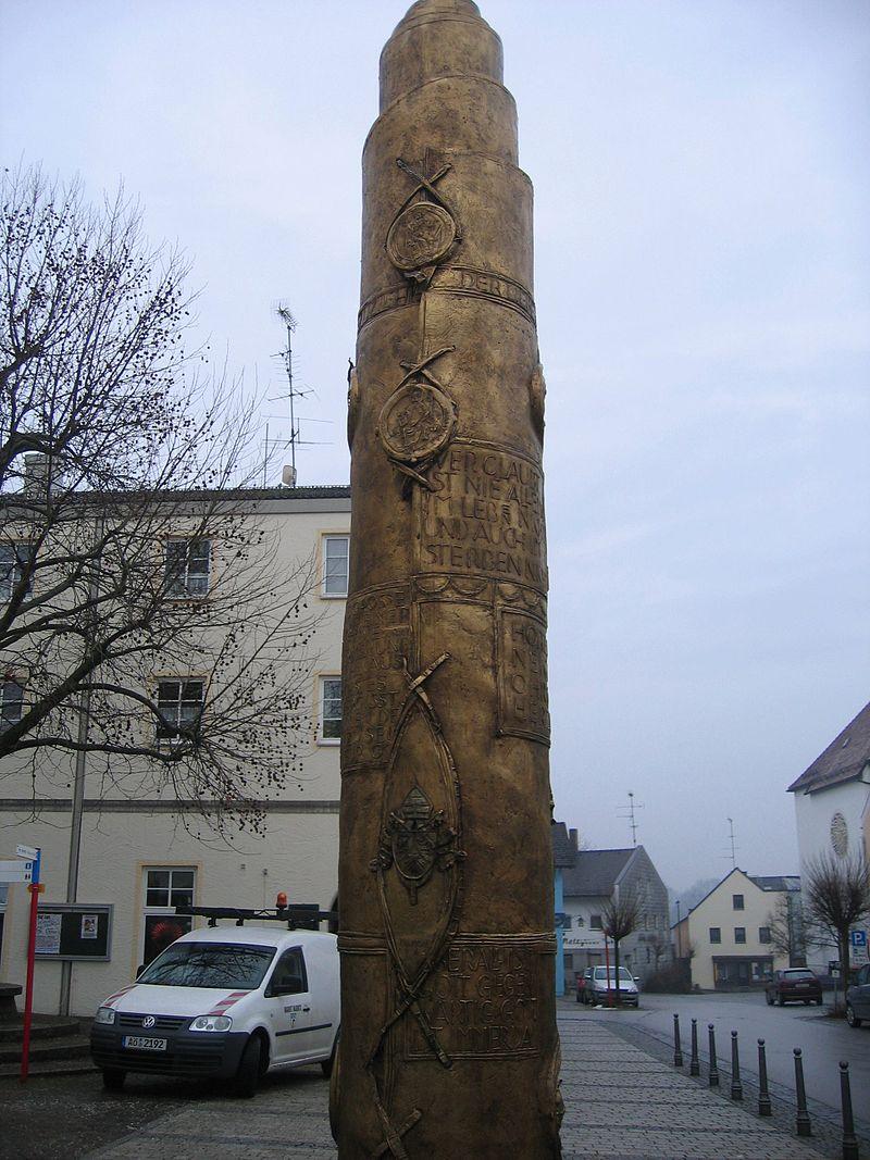 Bild Benediktsäule Marktl am Inn