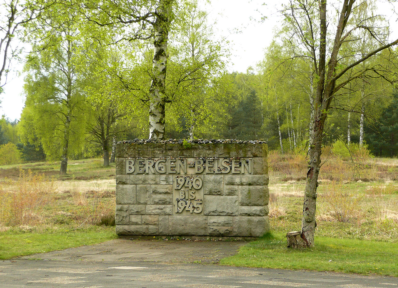 Bild Gedenkstätte Bergen Belsen