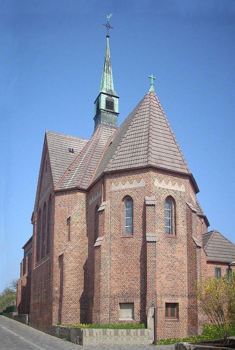 Bild St. Bonifatius Kirche Bergen