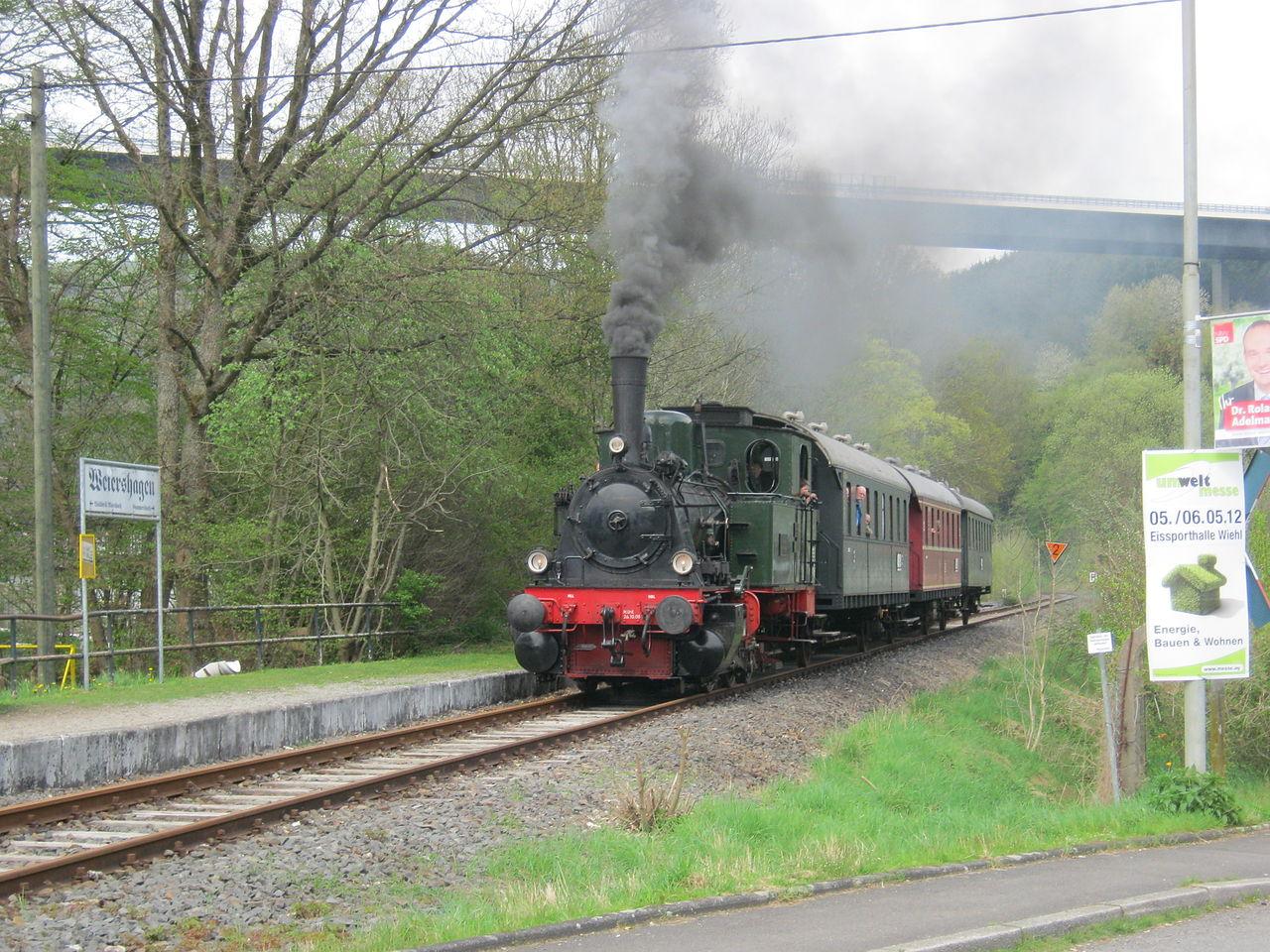Bild Wiehltalbahn Gummersbach