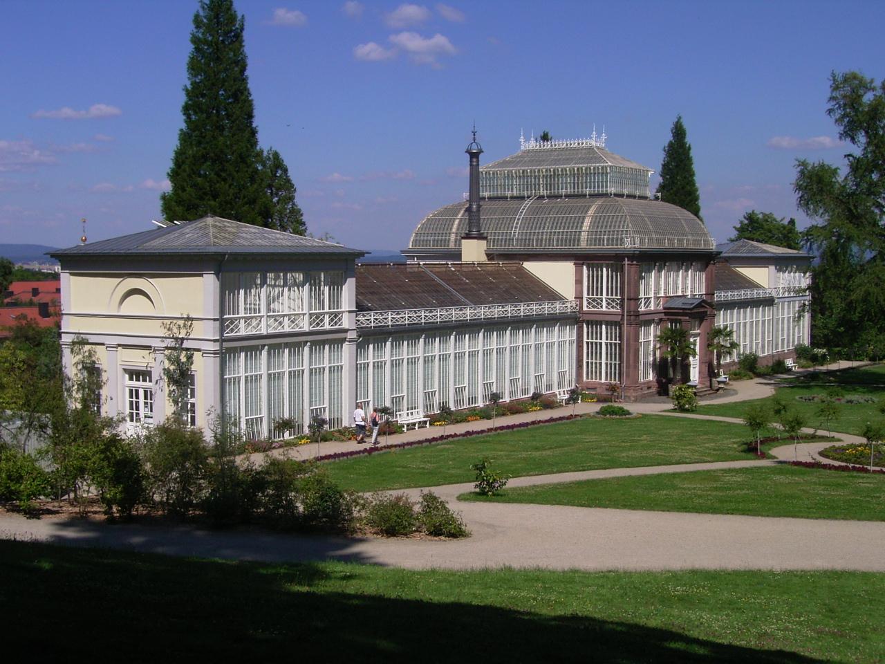 Bild Gewächshaus im Bergpark Wilhelmshöhe Kassel