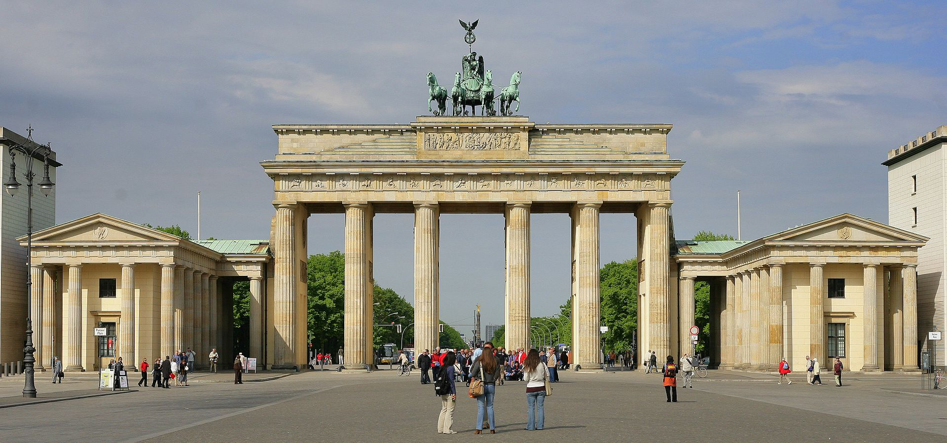 Bild Brandenburger Tor Berlin