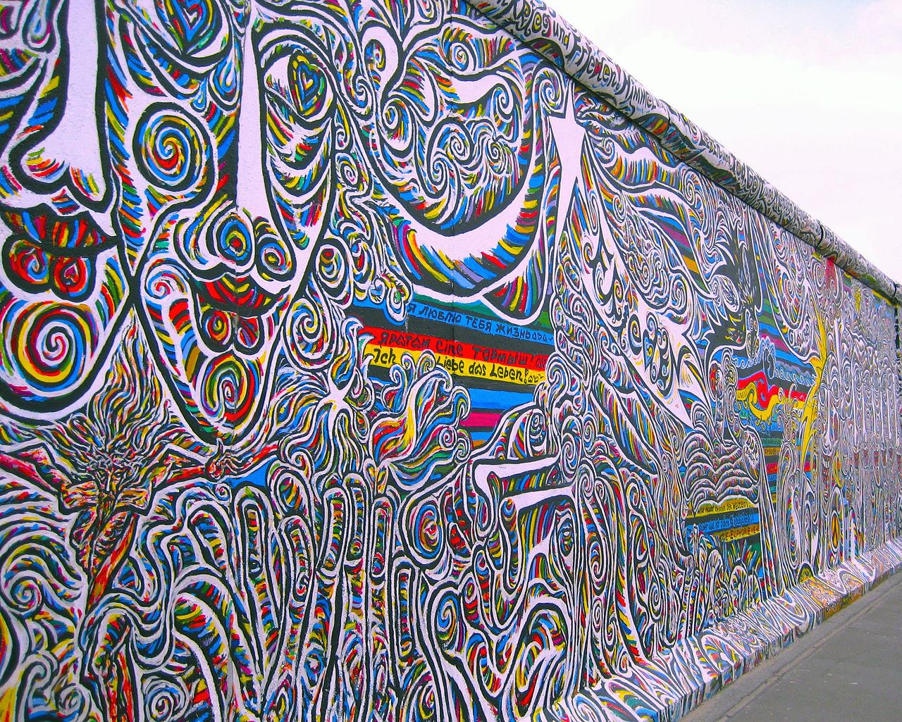 Bild East Side Gallery Berlin