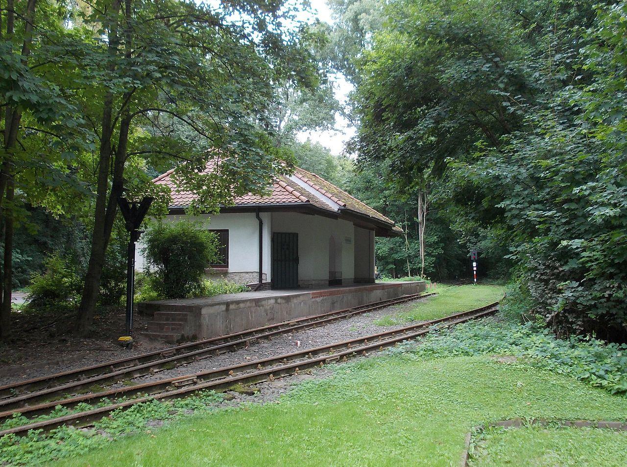 Bild Parkeisenbahn Krumbholz Bernburg