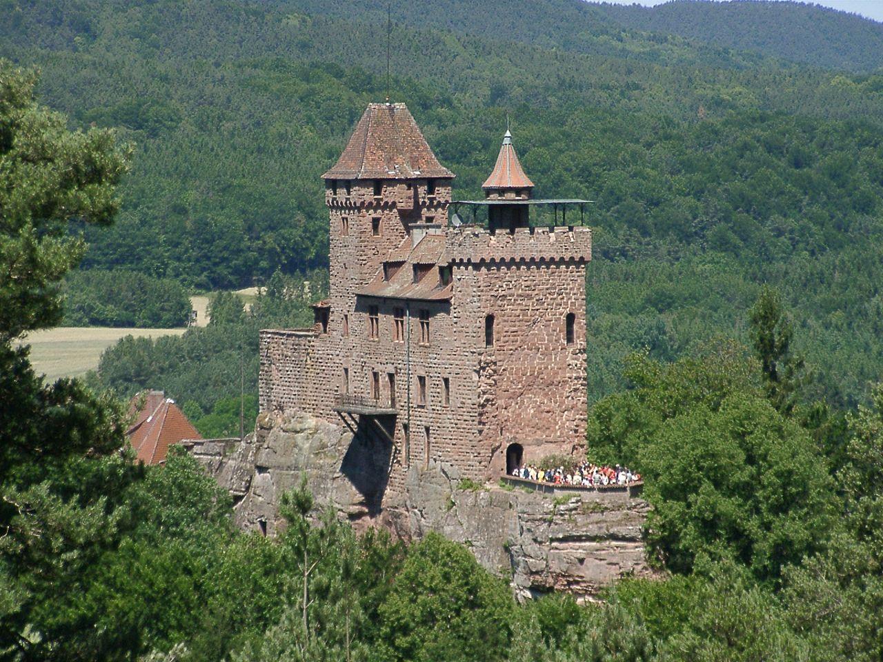 Bild Burg Berwartstein Erlenbach
