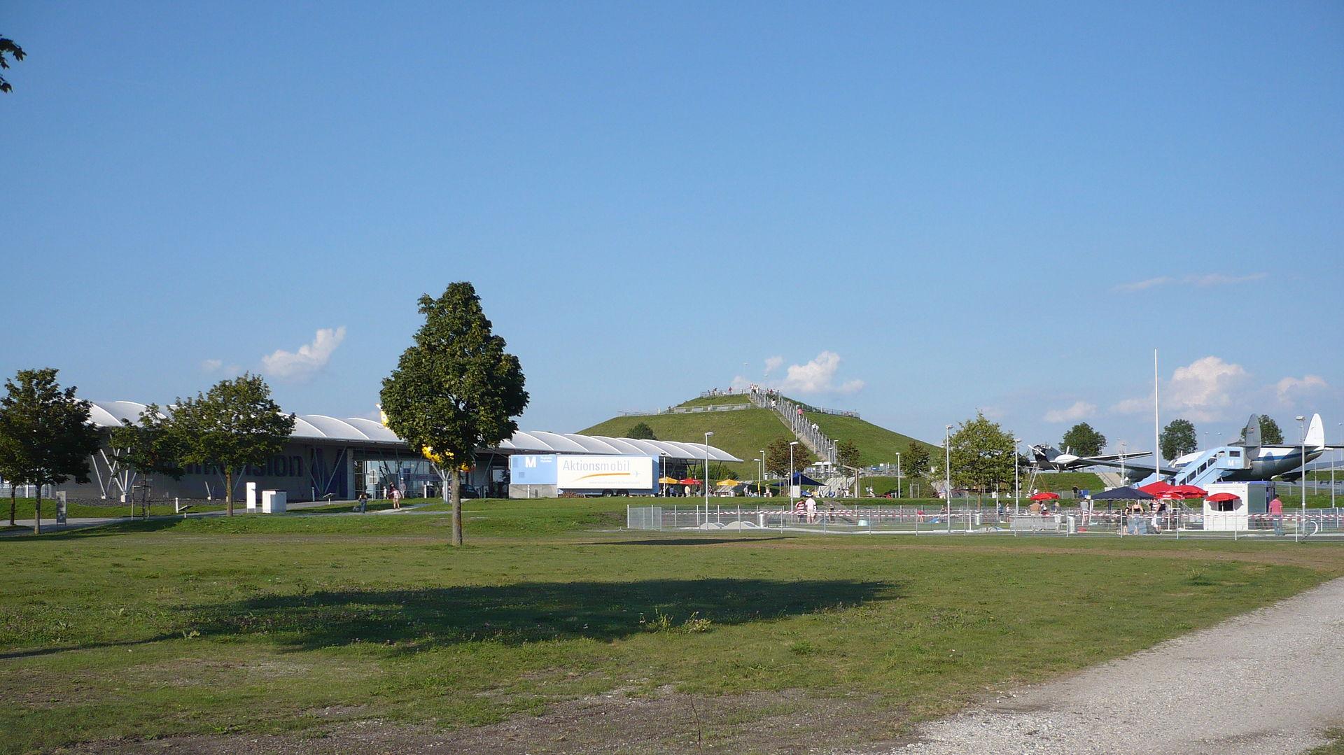 Bild Besucherpark Flughafen München