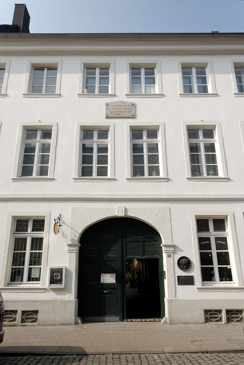 Bild Schumann Gedenkstätte Düsseldorf