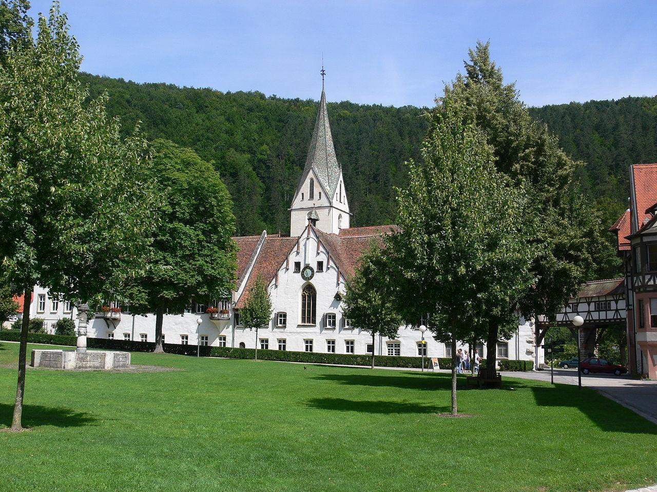Bild Kloster Blaubeuren