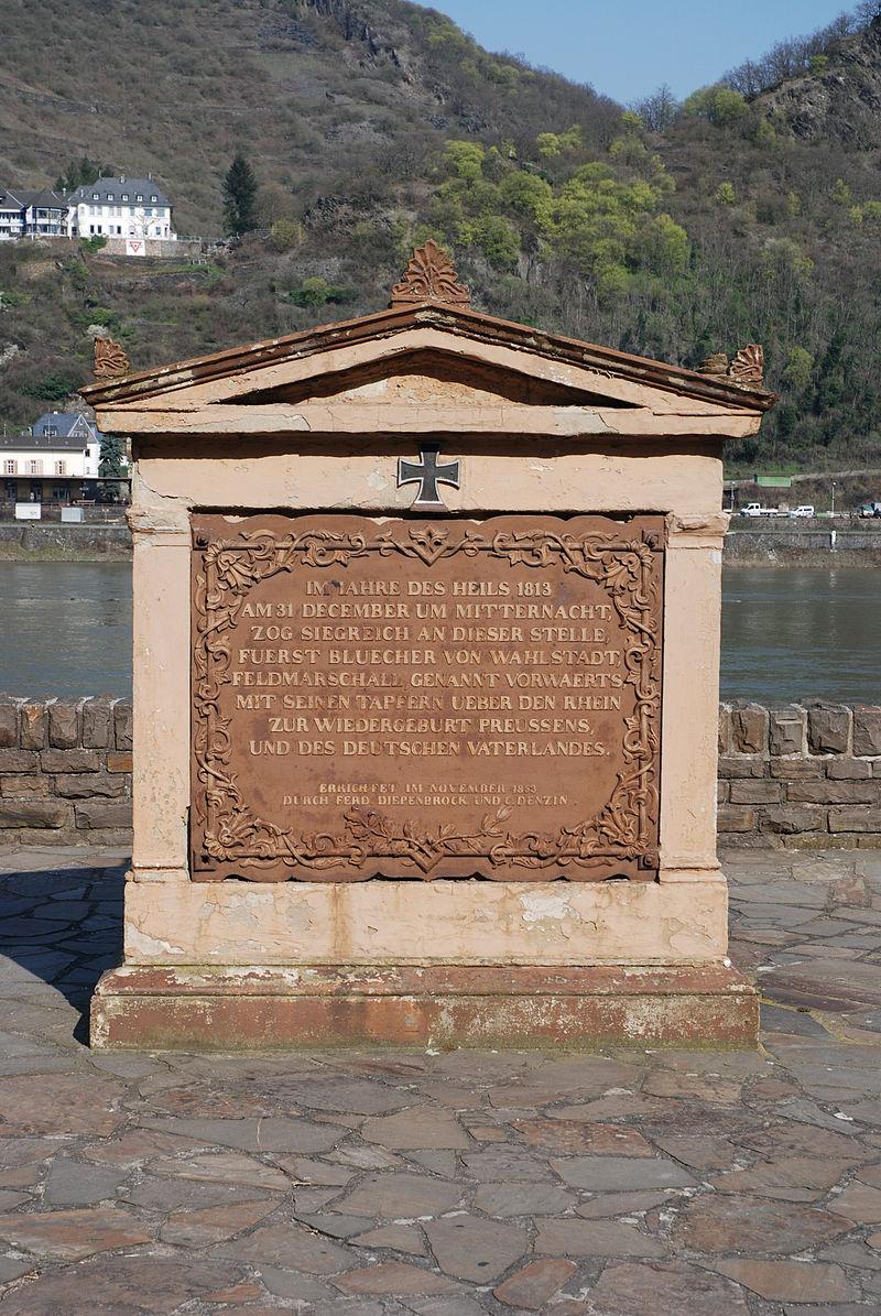 Bild Blücher Gedenkstein Kaub