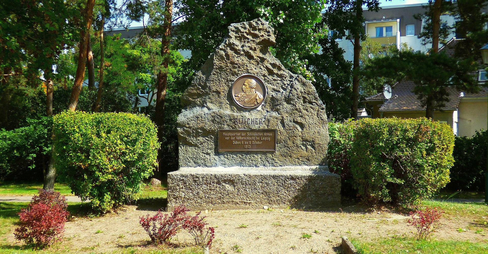 Bild Blücherdenkmal Bad Düben