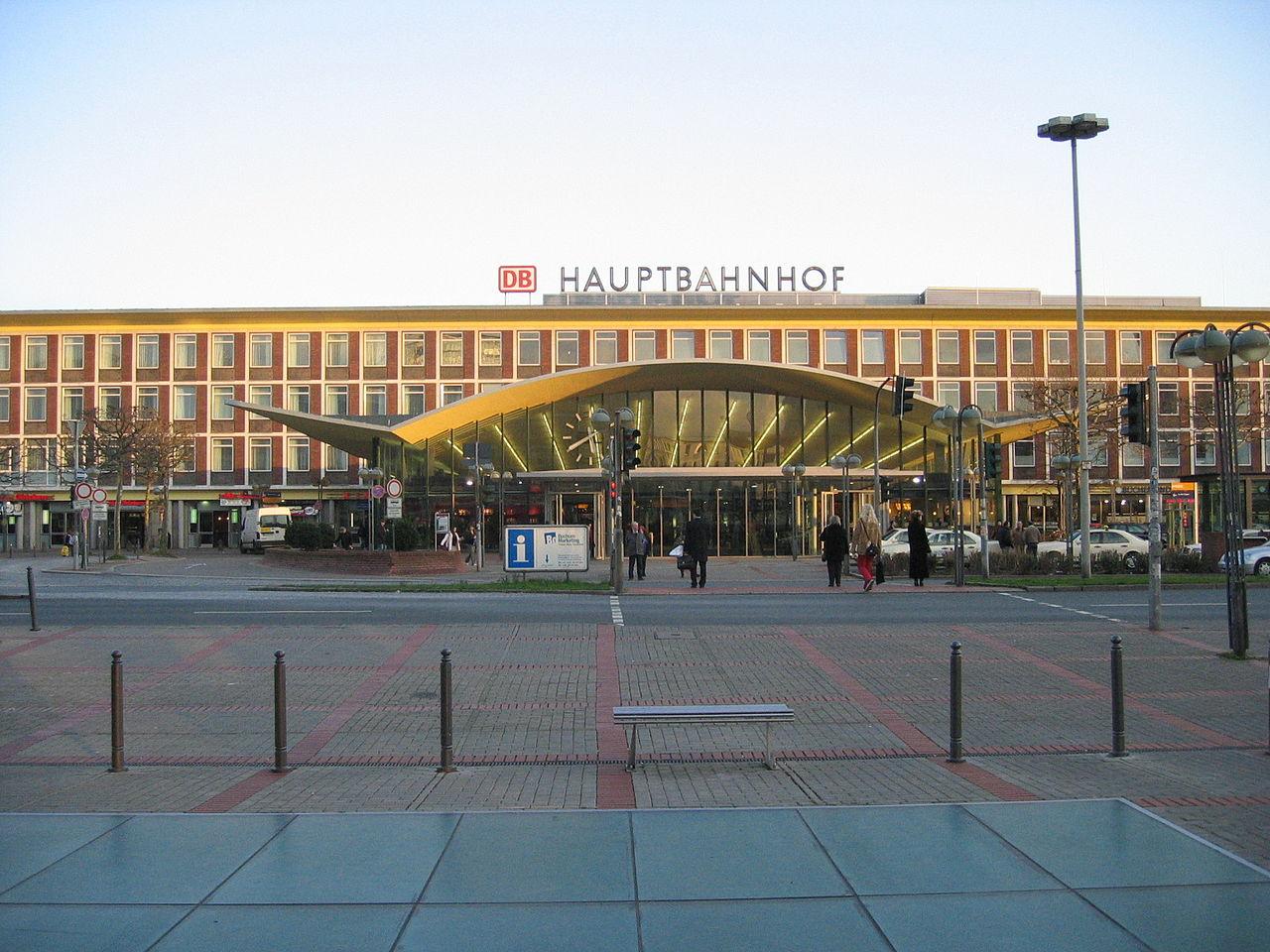 Bild Hauptbahnhof Bochum