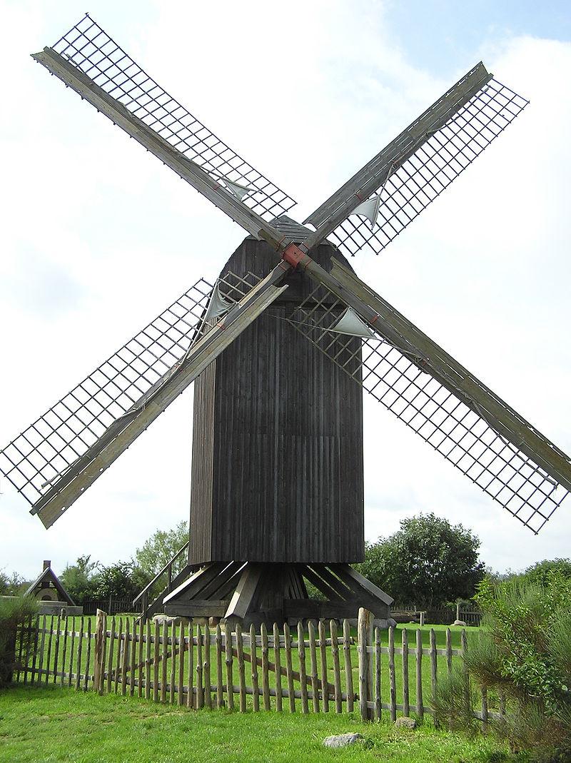 Bild Bockwindmühle Pudagla