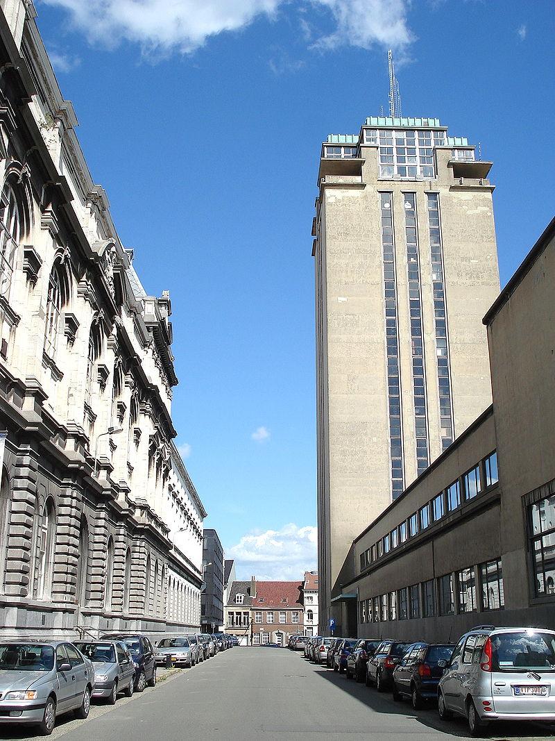 Bild Bücherturm Gent