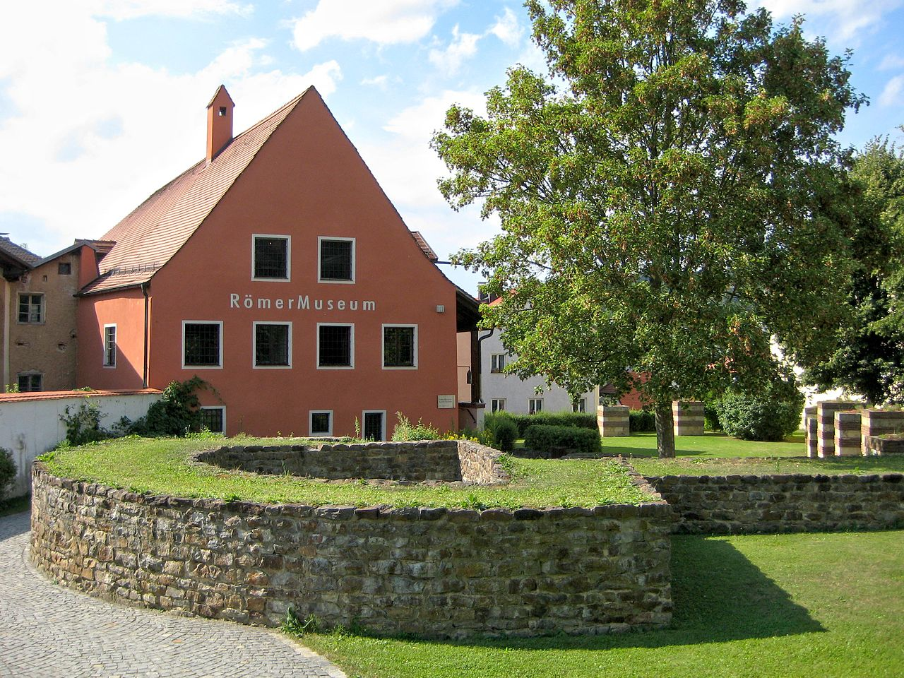 Bild RömerMuseum Kastell Boiotro Passau