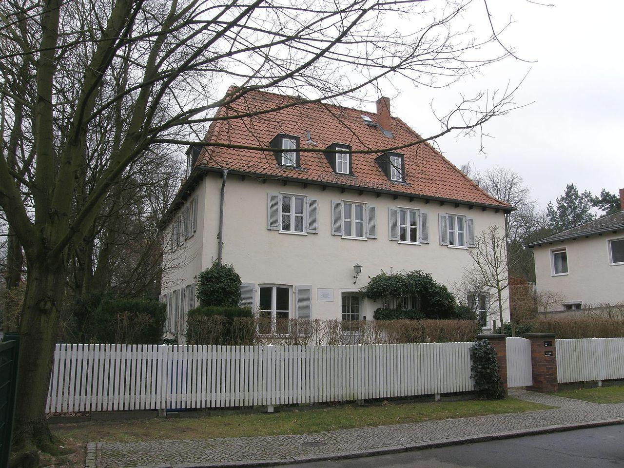 Bild Bonhoeffer Haus Berlin