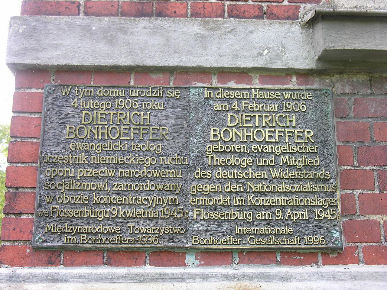 Bild Bonhoeffer Geburtshaus Breslau (Wroclaw)