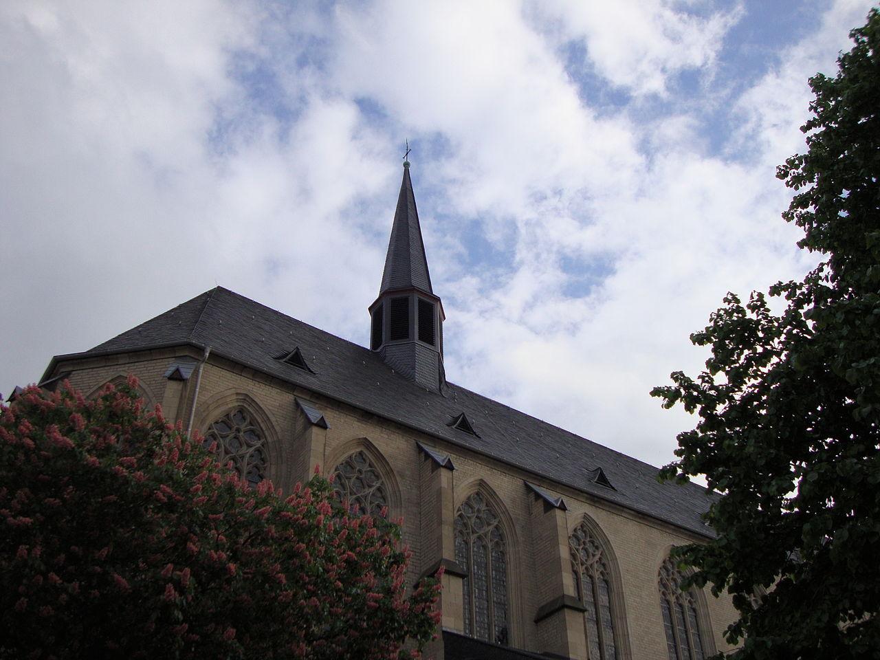 Bild Beethovens Taufkirche St. Remigius Bonn
