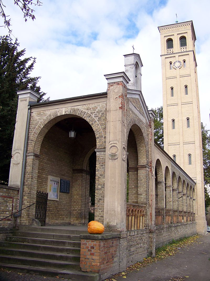Bild Kirche Bornstedt