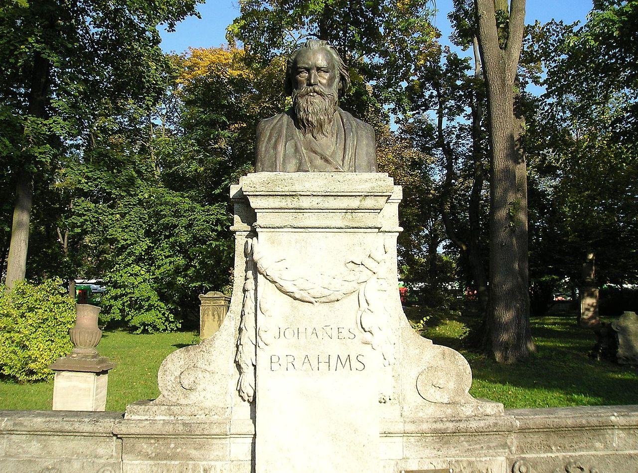 Bild Brahms Denkmal Meiningen