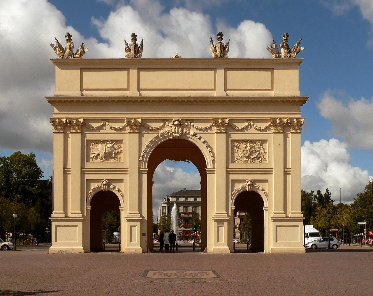 Bild Brandenburger Tor Potsdam