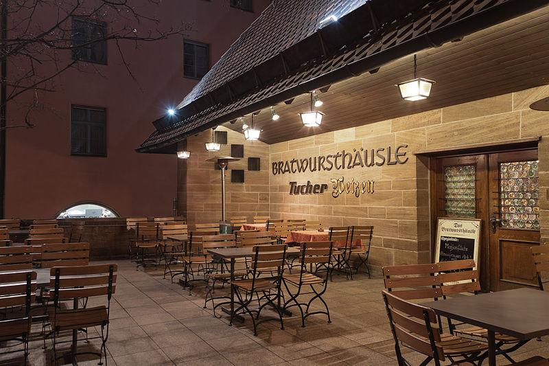 Bild Bratwurst Häusle Nürnberg