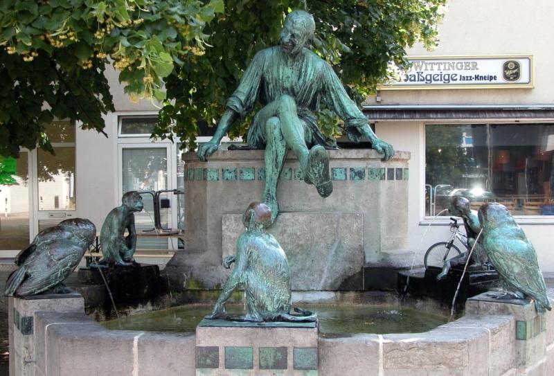 Bild Eulenspiegel Brunnen Braunschweig