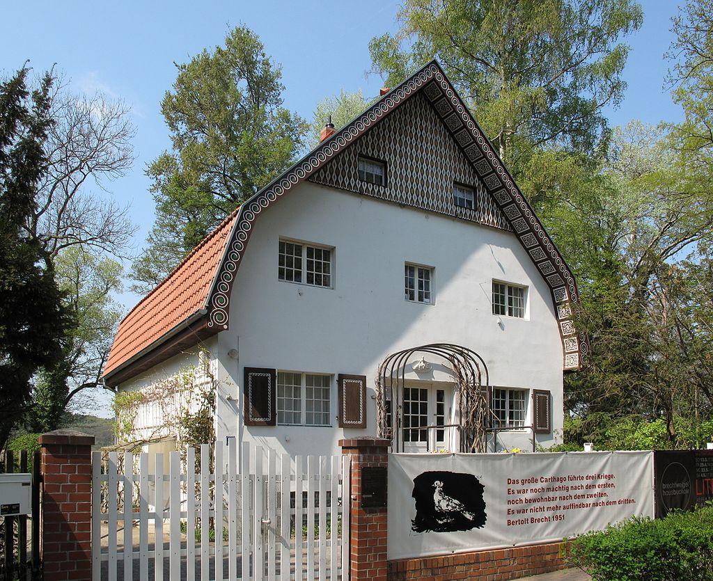 Bild Brecht Weigel Haus  Buckow