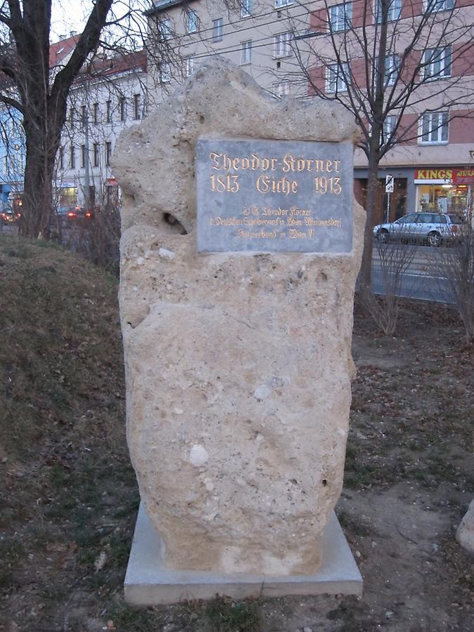 Bild Körner Gedenkstein Wien