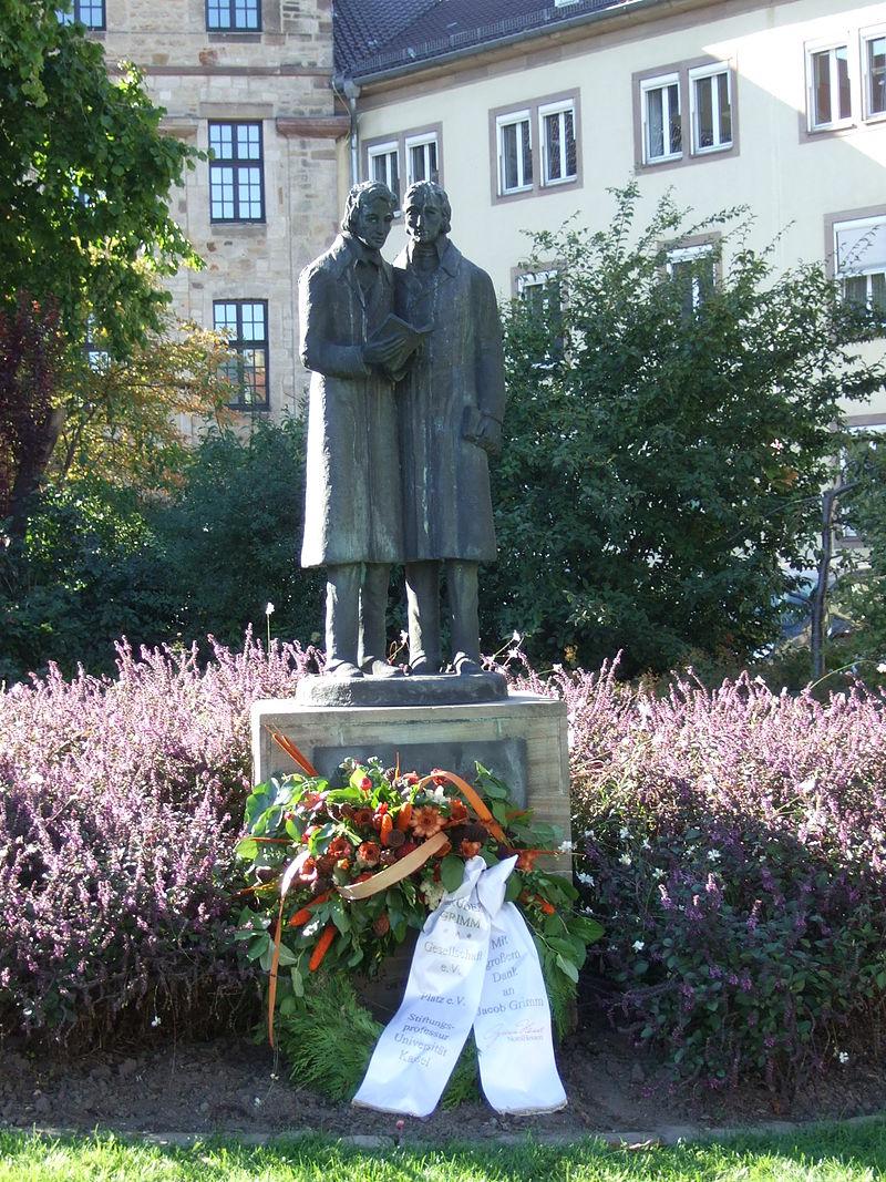 Bild Brüder Grimm Denkmal Kassel