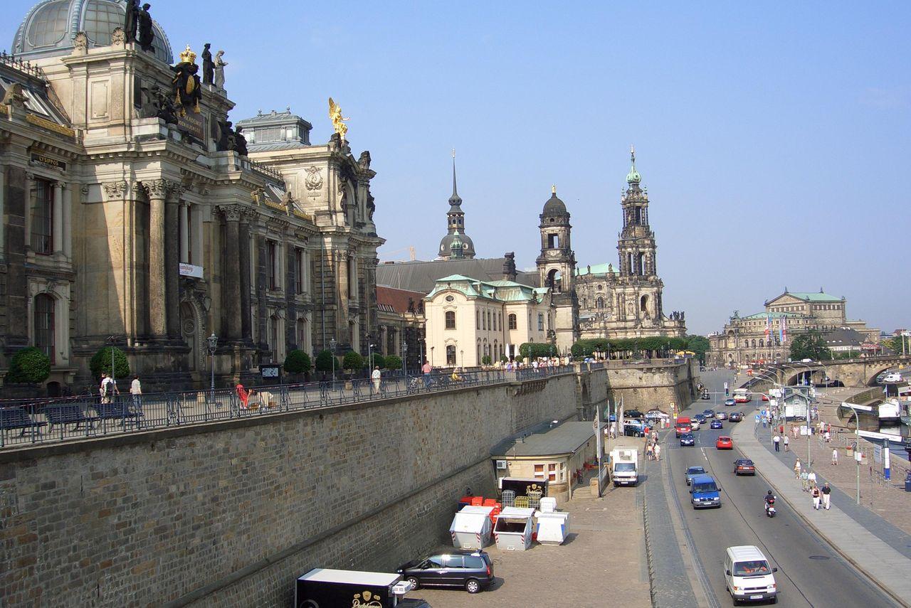 Bild Brühlsche Terrasse Dresden