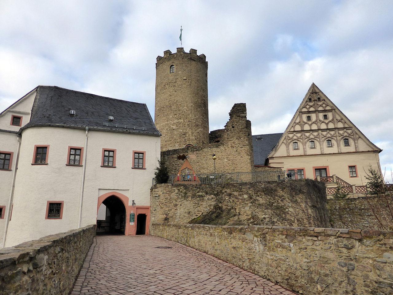 Bild Burg Scharfenstein Drebach