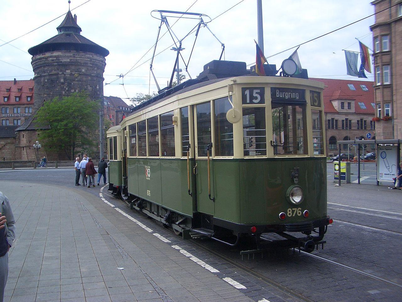 Bild Historisches Straßenbahndepot St. Peter Nürnberg