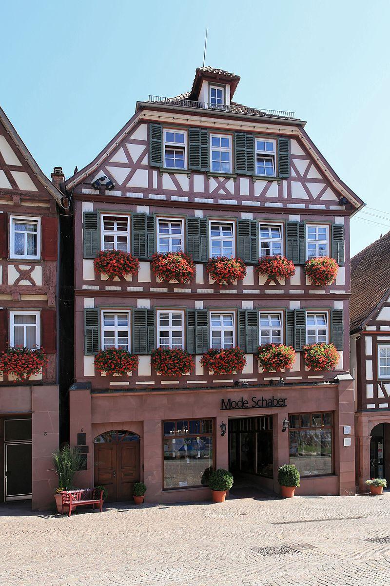 Bild Hermann Hesses Geburtshaus in Calw