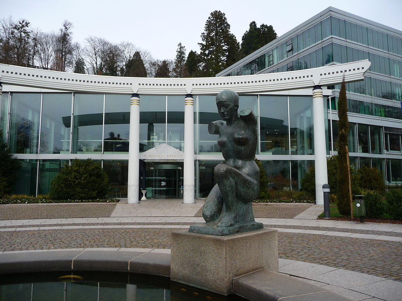 Bild Caracalla Therme Baden Baden