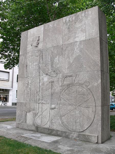 Bild Carl Benz Denkmal Mannheim