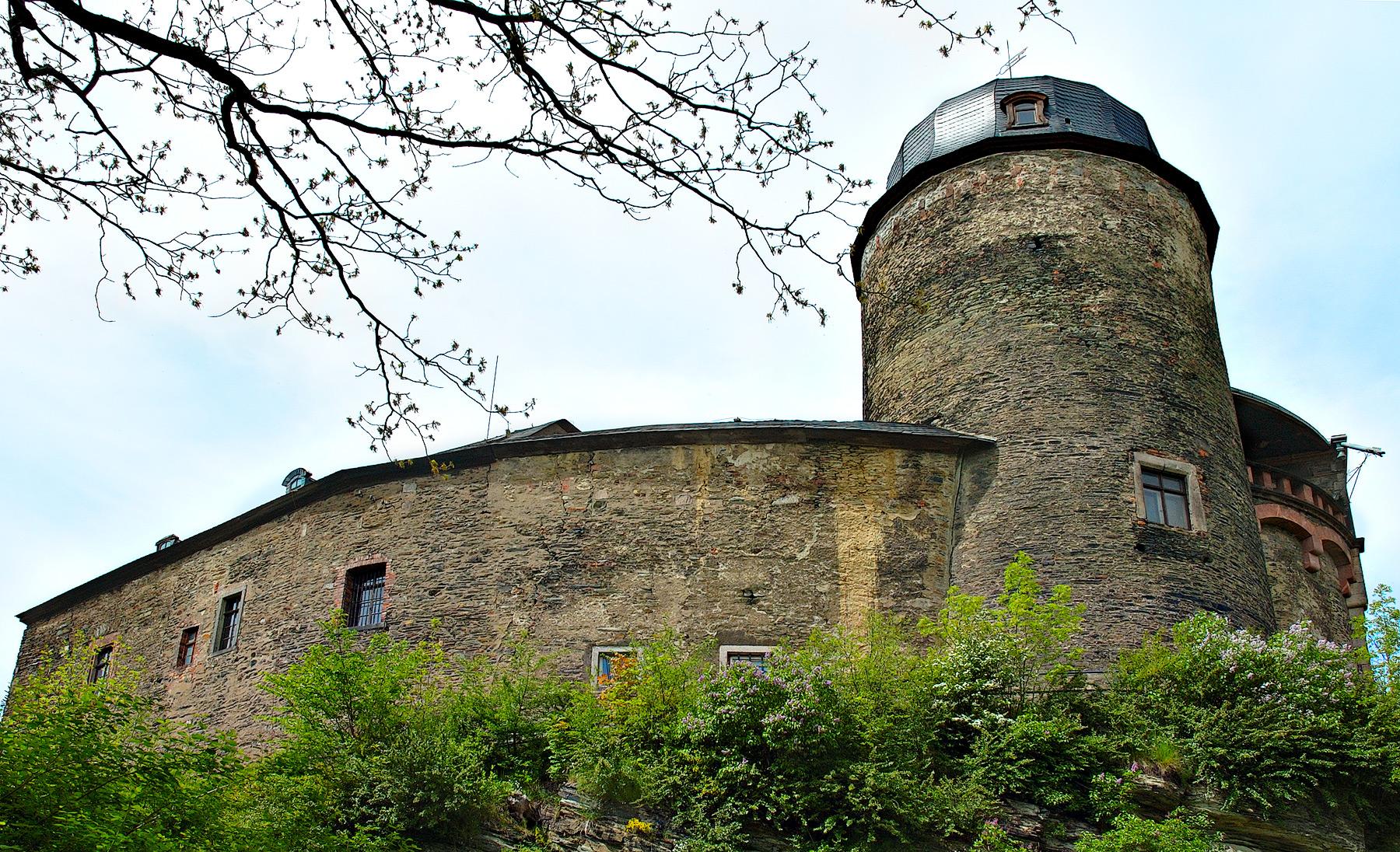 Bild Kaiserburg Mylau