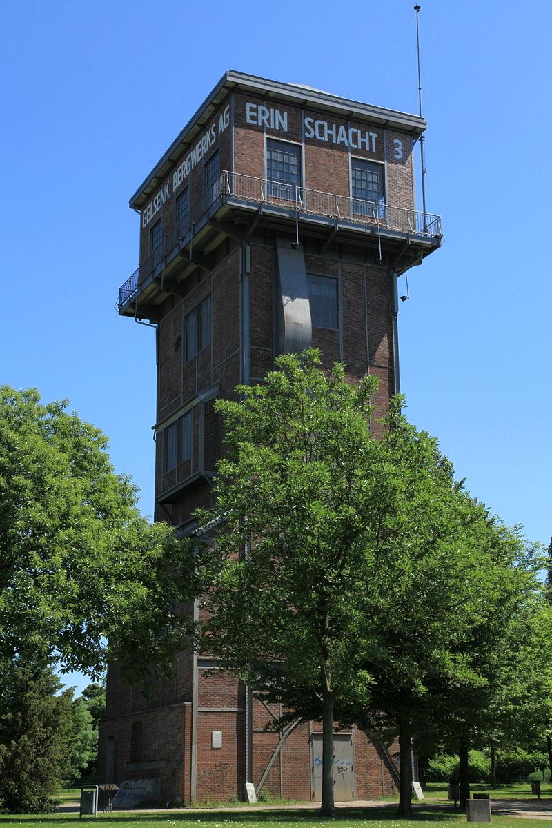 Bild Hammerkopfturm Castrop Rauxel