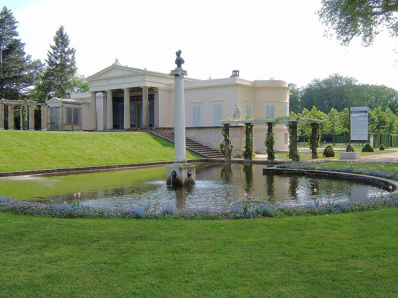 Bild Schloss Charlottenhof Potsdam