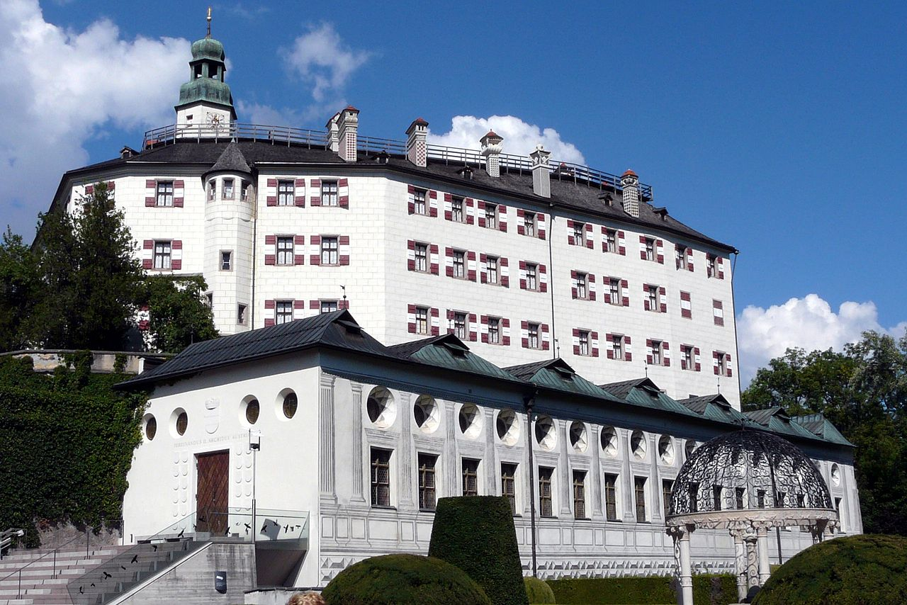 Bild Schloss Ambras Innsbruck