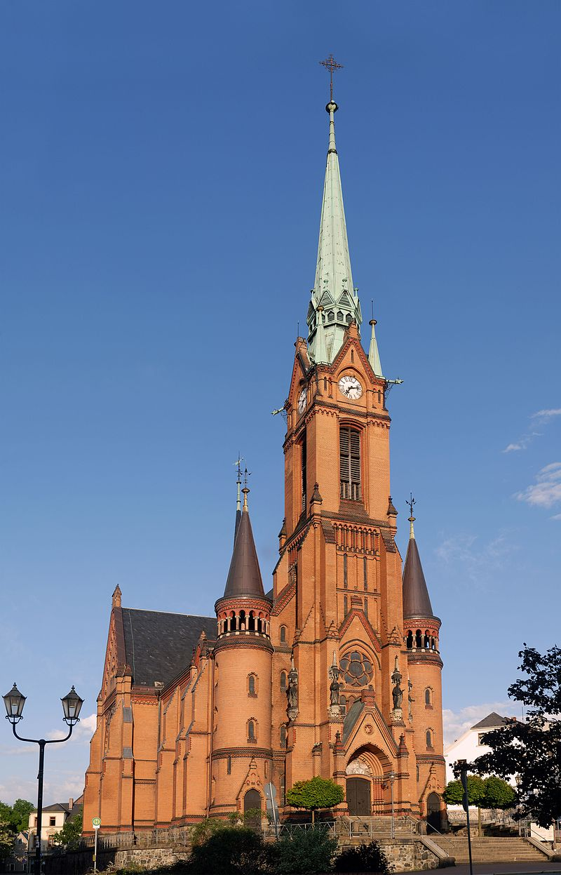 Bild Stadtkirche Mylau