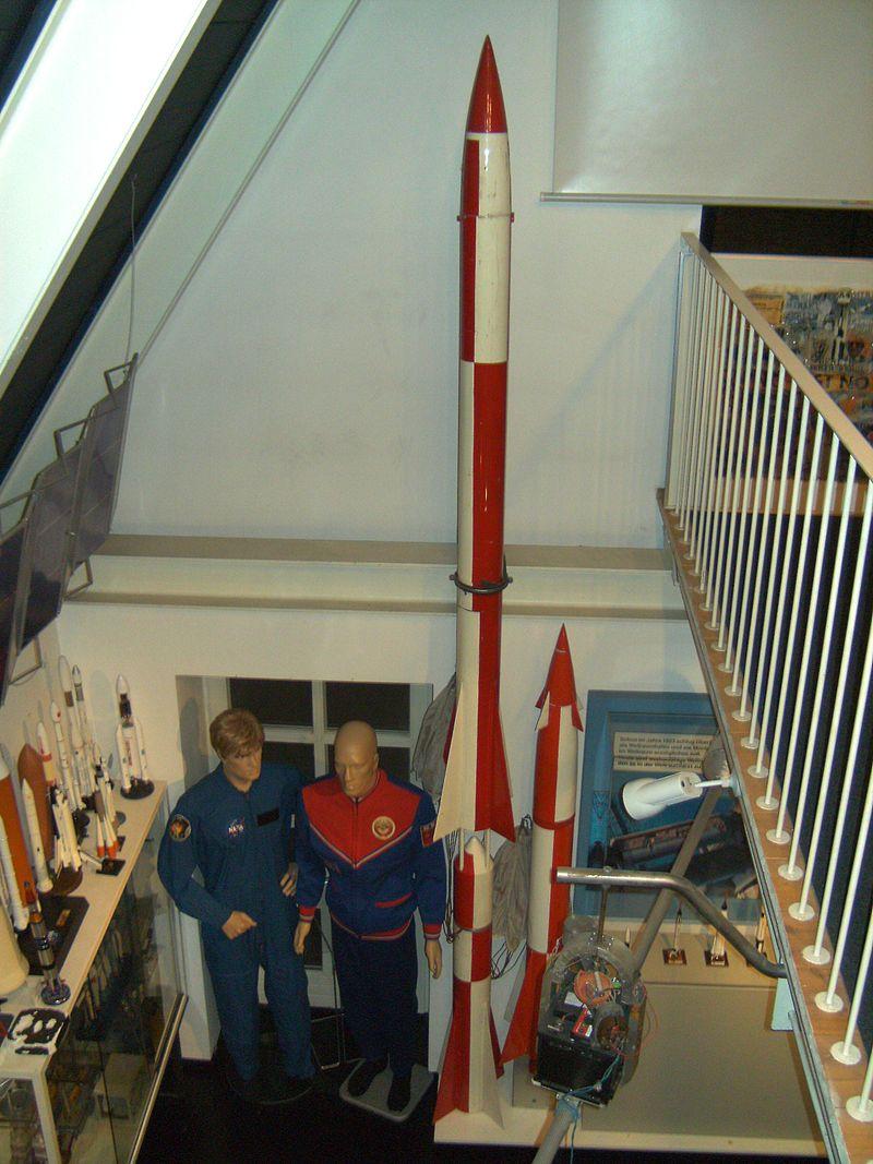 Bild Hermann Oberth Raumfahrt Museum Feucht