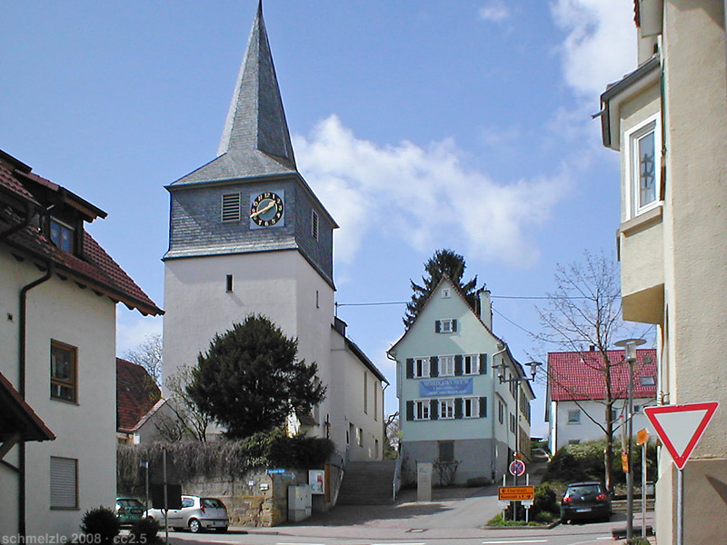 Bild Evangelische Kirche St Jost Cleversulzbach