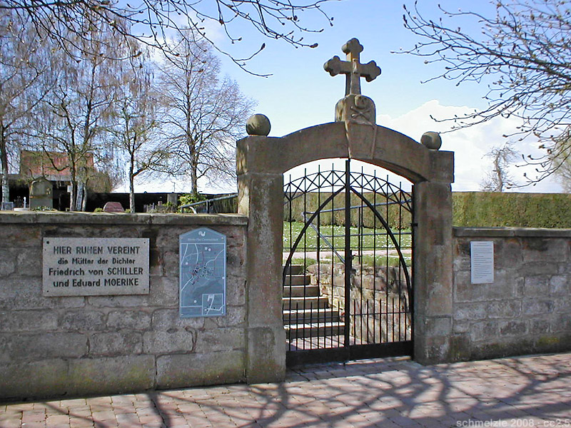 Bild Friedhof Cleversulzbach