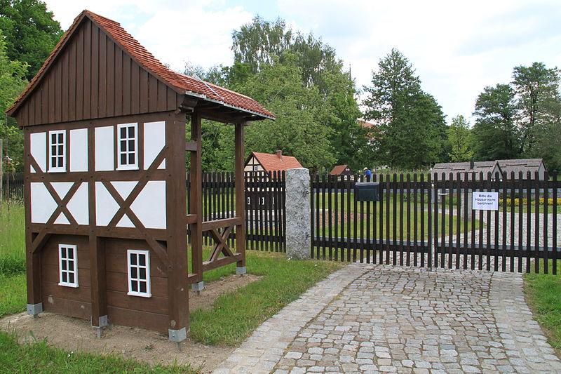 Bild Umgebindehaus Park Cunewalde
